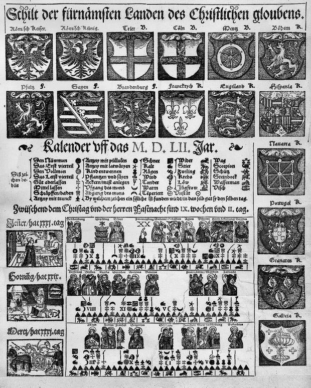 Calendario Svizzero.Almanacchi